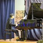 園児によるピアノ伴奏
